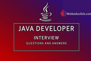 Java Developer Interview Questions and Answers